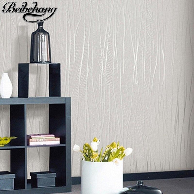ღ ღBeibehang moderno e minimalista soggiorno camera da letto carta ...