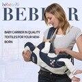 Bebear Рюкзак-кенгуру Горизонтально держать 360 кенгуру для переноски ребенка 3 методов использования Научно и воздухопроницаемость Слинг Переноски для детей кенгуру для переноски ребенка Дизайн эргономики