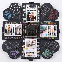 Quà Tặng sinh nhật Đảng Creative DIY Giấy Bộ Nhớ Ảnh Sổ Lưu Niệm Album Craft Kit Kỷ Niệm Hogard