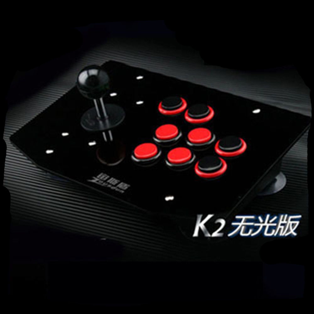 black and red button arcade joysticks Game Controller for computer game Street Fighters