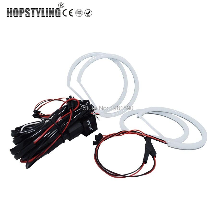 Hopstyling xénon blanc E36 E38 E39 E46 projecteur coton lumière ange yeux aucune erreur pour BMW Halo SMD phare voiture-style