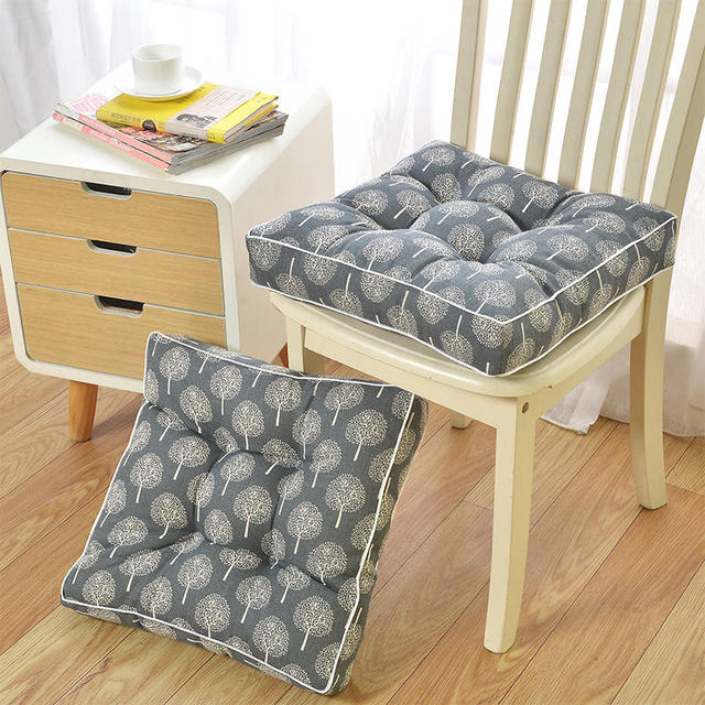 Home Decor Comfortable Cotton Seat Cushion Winter Office Chair Back Cushions Sofa Ocks Floor