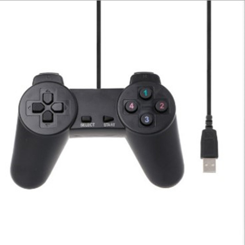 USB 1.01/ 2.0 Controller Gamepad for PC USB <font><b>Joystick</b></font> for PC Game Wired Computer Control for Windows <font><b>Laptop</b></font> Plug and Play image
