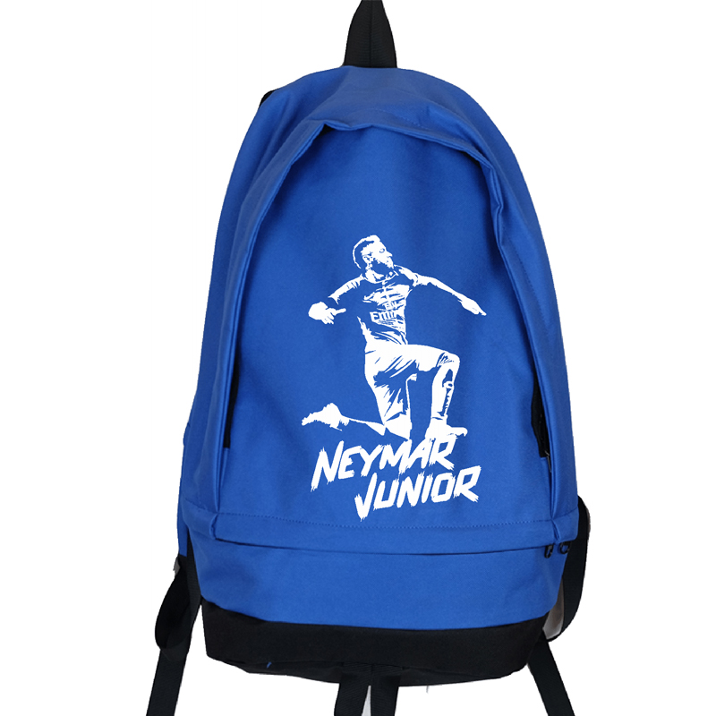 Best buy Neymar Junior Canvas Backpack Large Capacity Travel Backpacks Foot  Ball Training Bagpack Children School Bag Mochila Escolar online cheap d835fea8e10cb