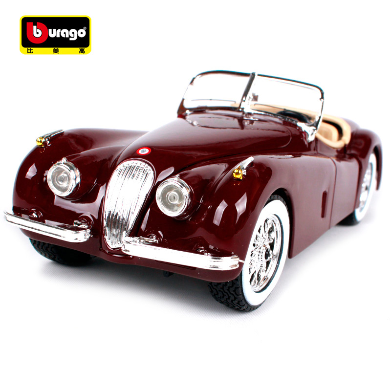 Bburago 1:24 JAGUAR XK 120 ROADSTER Diecast Model Car Toy New In Box Free Shipping 300SL 22018 цена 2017