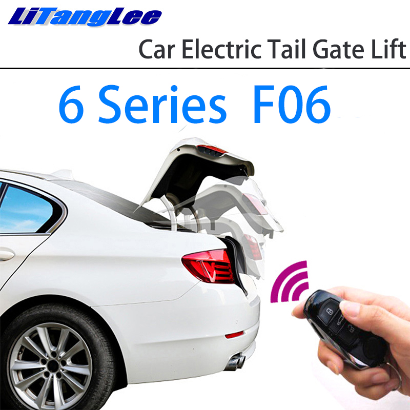 LiTangLee Car Electric Tail Gate Lift Trunk Rear Door Assist System For BMW 6 Series F06 2012~2018 Original Key Remote Control