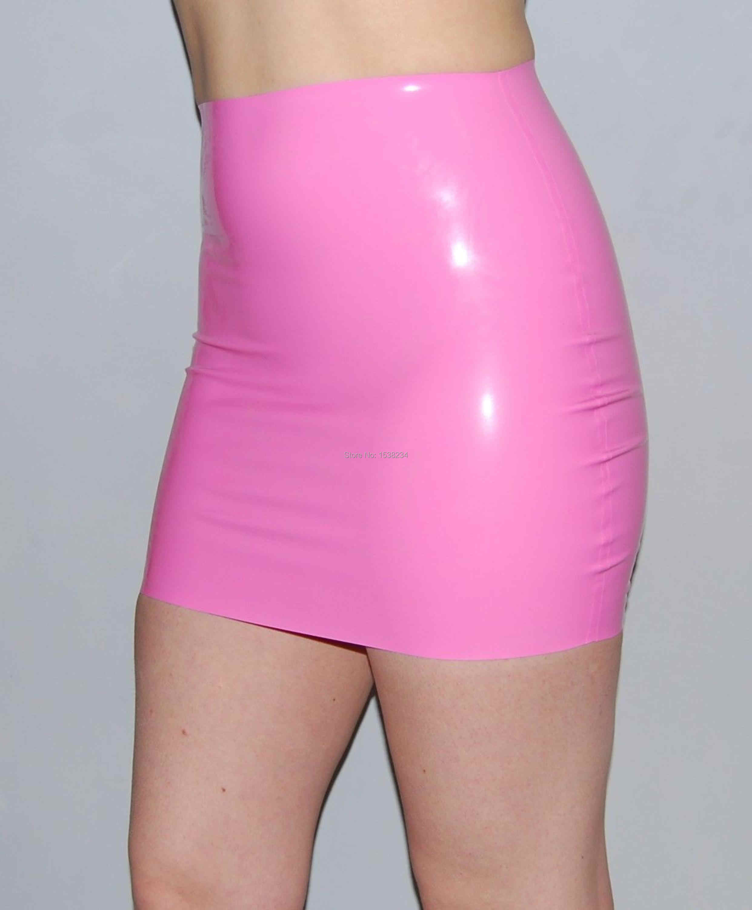 a597b2b44cee5d Detail Feedback Questions about Latex Skirt Women Baby Pink Skirt on  Aliexpress.com | alibaba group