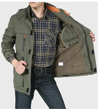 2018 Bomber Soft Shell Jacket Men Army Jacket Breathable Windproof Raincoat Multi-pocket Waterproof Jacket Windbreaker Men Coat