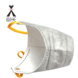 Image 4 - Хлопковая маска для губ @ HE Dog, респираторная маска для домашних животных PM2.5, Противопылевой газовый фильтр, противозапотевающая Дымчатая маска для собак