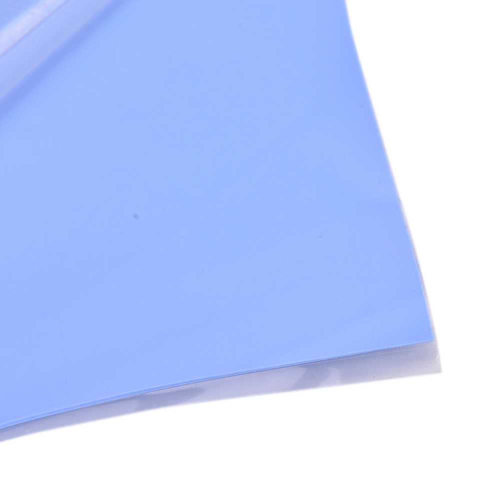 100mm*100mm*0.5mm GPU CPU Heatsink Cooling Conductive Silicone Pad Thermal Pad High Quality