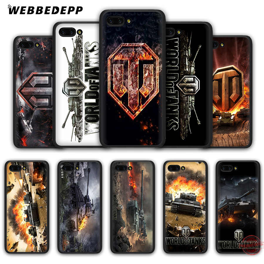 World of tanks WEBBEDEPP Soft Case para Honra 20 10 9 9X8 Lite 8C 8X 7X 7C 7A 3GB 6A Pro Vista 20