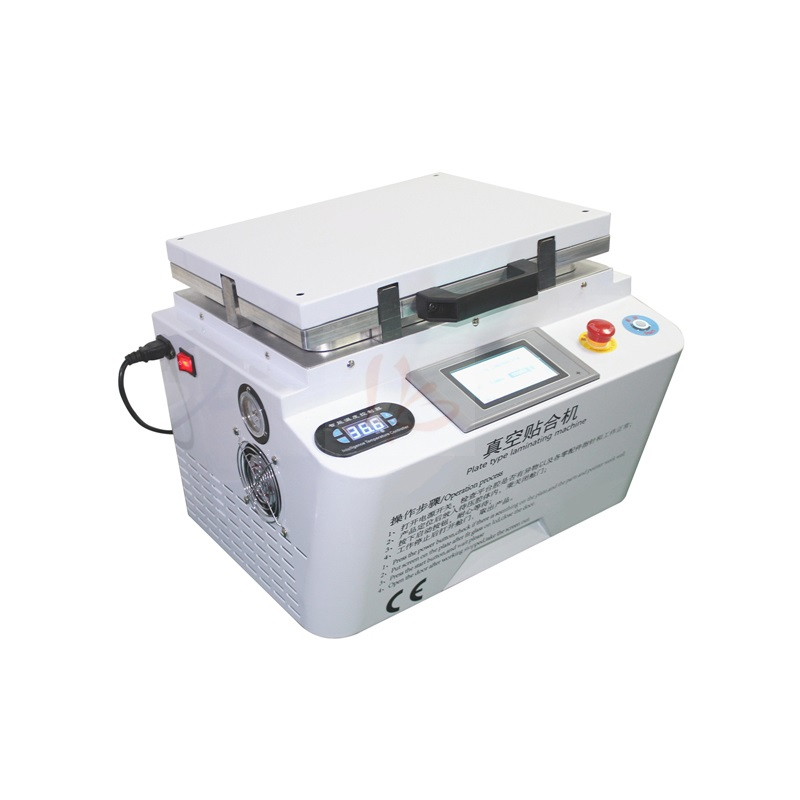 LY 888A+ Auto air lock soft hard airbag type all in one touch screen OCA vacuum laminator Max 12 inches combined laminating