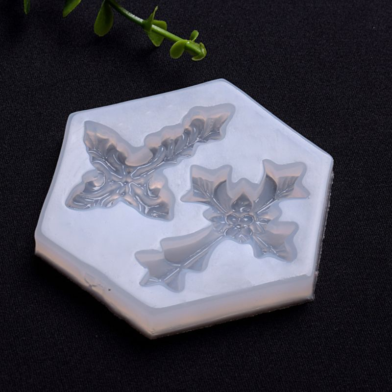 Mini 3D Cross Shape Silicone Epoxy Resin UV Glue Crafts Mold Creative DIY Art Pendant Brooch Jewelry Tool Accessory