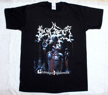 DYING FETUS GROTESQUE IMPALEMENT DEATH METAL GRINDCORE NEW BLACK T-SHIRT(China)
