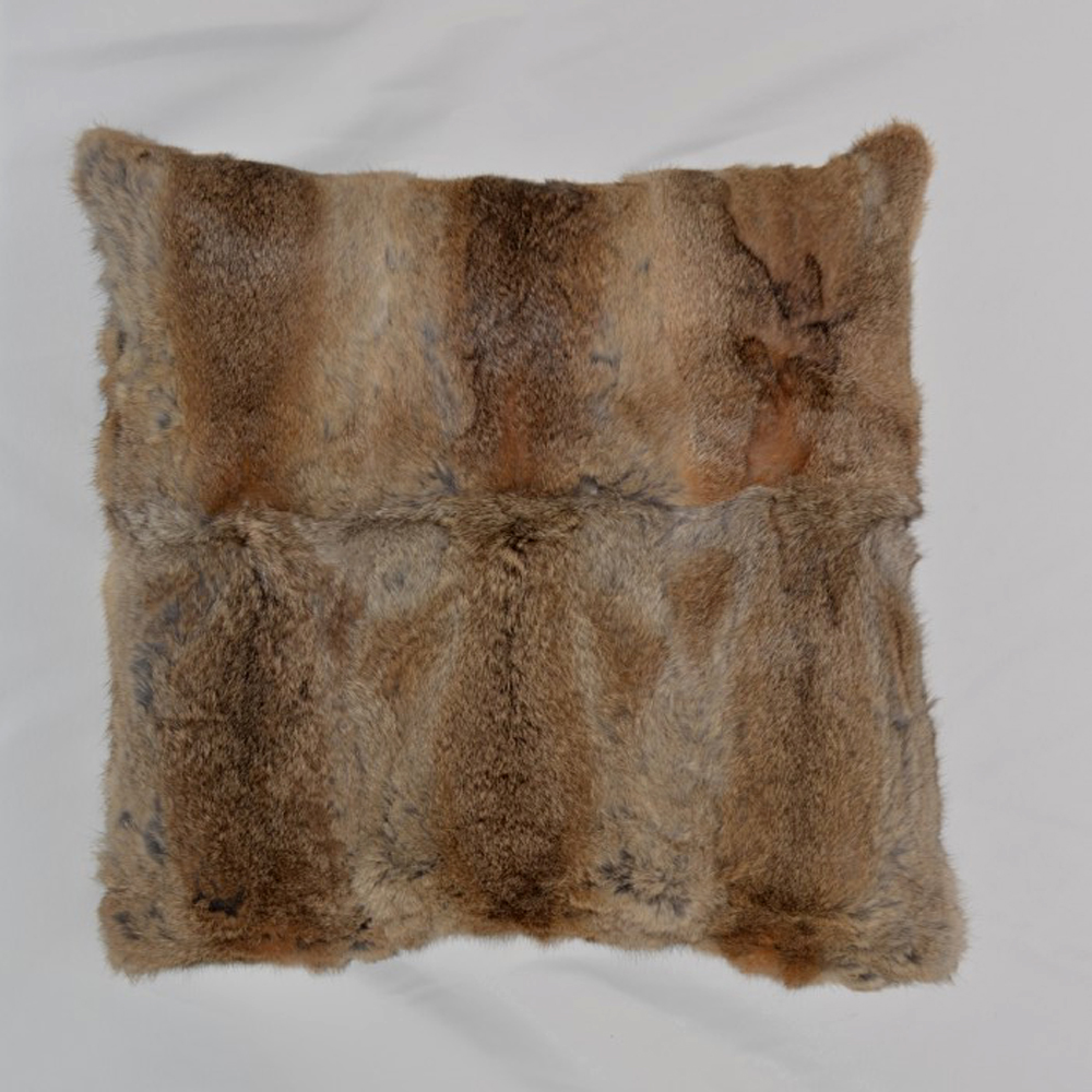 Натуральна хутряна подушка з хутра - Домашній текстиль