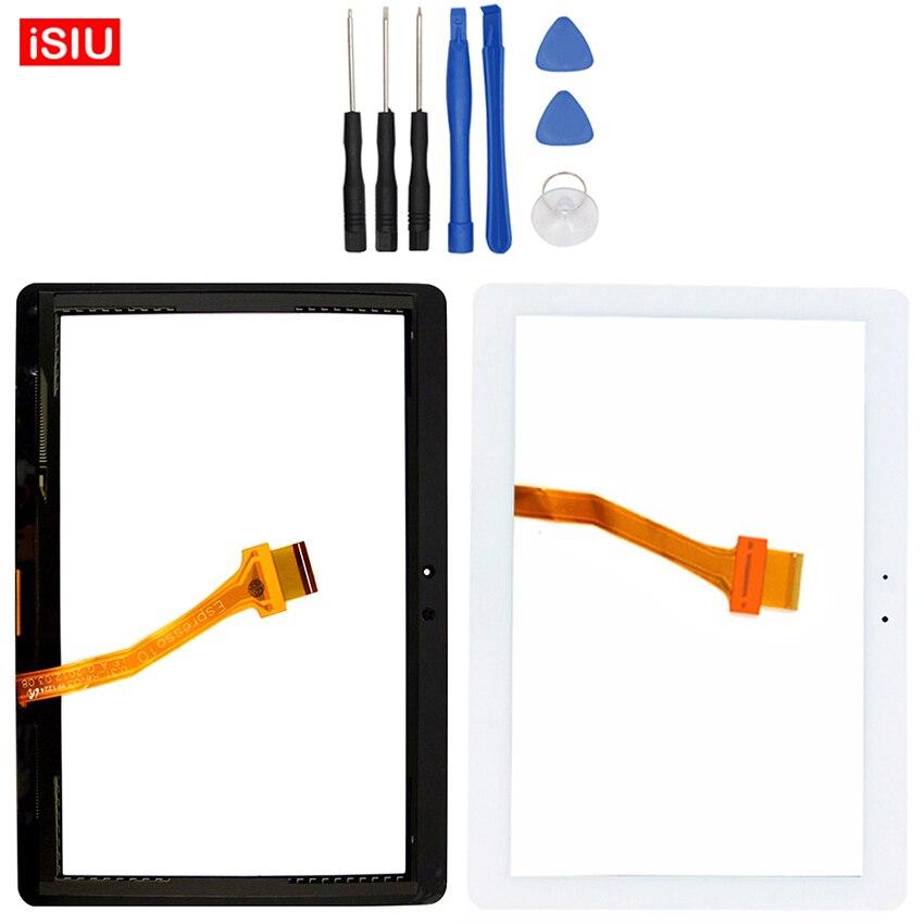 Nuovo 10.1 pollice Per Samsung Galaxy Tab 2 P5100/P5110/N8000 Tab2 LCD Touch Screen Lente di Vetro Esterno Pannello Frontale + Strumenti