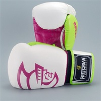 10 16oz US size Boxing Gloves Pretorian Muay Thai PU Adult Male Female Boxing Gloves Training in MMA Guante Box Gloves