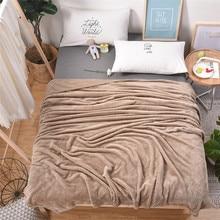 Клетчатое одеяло, плюшевые одноцветные покрывала для дивана, мягкие флисовые одеяла фланелевые покрывала для дивана 60001