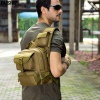 Tactical Military Waist Packs Men Women Multi-function Waterproof Nylon 1000D Bag Belt big shoulder Bags Waist Pack Molle System
