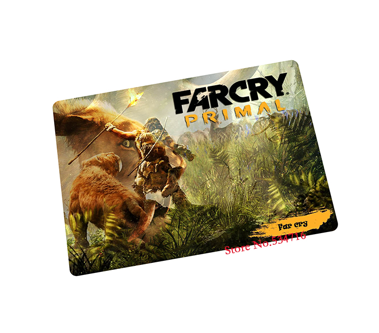 Far Cry Primal mouse pad Wholesale pad to mouse notbook computer mousepad anime gaming padmouse gamer to laptop mouse mats