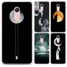 07e8001e46 The Reach for the Moon Pattern Transparent hard Case Cover for Xiaomi Mi A1  A2 5X