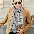 190*31 см мода Полушерстяные Шарф Мужчины 2016 Бренд большой Размер плед шарф Шарфы Мужчины Пашмины Шарф femal шаль