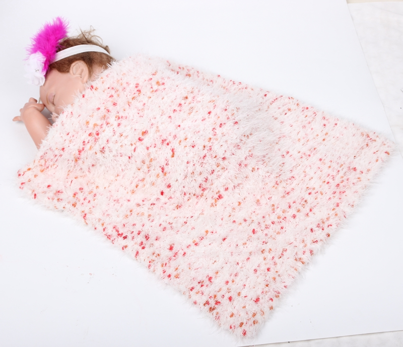 new style brand solid newborn baby blanket winther baby