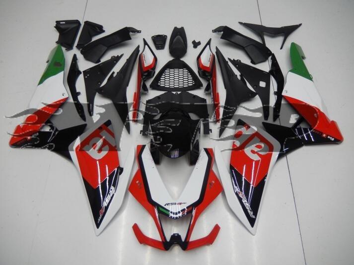 Left /& Right Part Batwing Fairing Bodywork Fit for Aprilia RSV4 1000 2010-2015