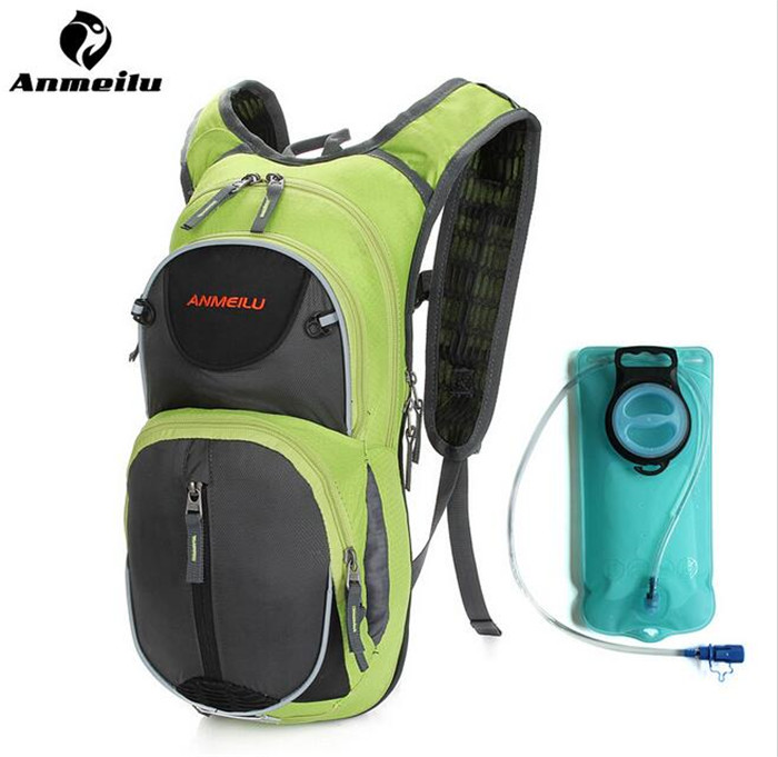 ANMEILU 15L Outdoor Sports Backpack Ultralight Rucksack Bicycle Cycling Camping Hiking Shoulders Bag Camelback With Rain Cover 3pcs oem 1 8t 2 0t 12v engine cars circulating cooling water pump fit vw jetta golf gti passat b6 cc octavia a3 q3 1k0 965 561 j