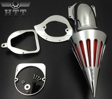 цена на Aftermarket free shipping motorcycle parts Spike Air Cleaner Kits intake filter for Honda Spirit ACE 750 1998-2013 BLACK