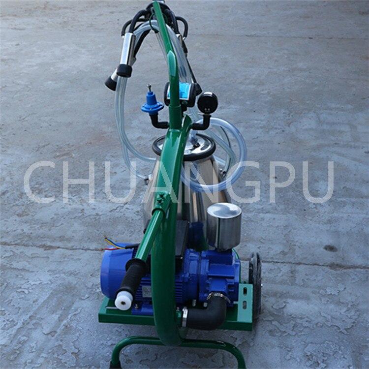 염소위한 새로운 모델 모바일 젖 짜기 기계