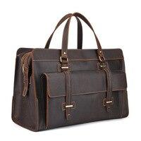 Натуральная кожа Дорожная сумка для путешествий Мужская Упаковка Кубики дорожный органайзер для багажа большая емкость сумка ручной клади