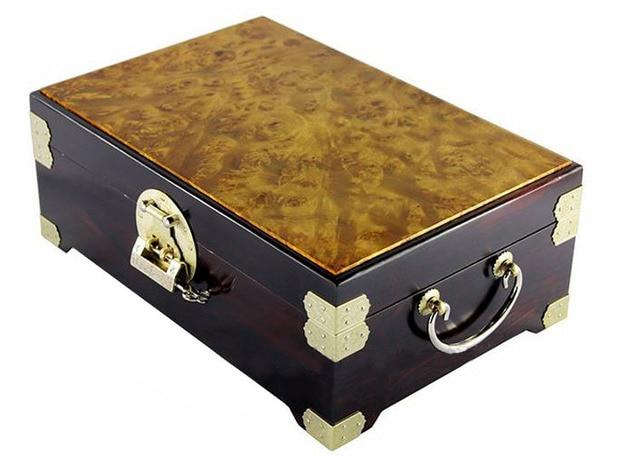 Free Shipping Madacascan Ebony solid wood jewelry box with Burma burl gold c&horwood top best wedding  sc 1 st  AliExpress.com & Free Shipping Madacascan Ebony solid wood jewelry box with Burma ...