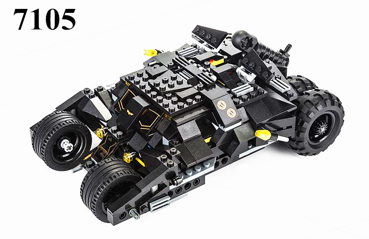 MOC 2017 New Batman The Tumbler Batmobile Batwing Joker Super Heroes Build Blocks Marvel Minis Toy Brinquedos DIY LEPINE Gift hot wheels batman 3 pack cars includes bone shaker special the joker edition the dark knight batmobile and ford fusion