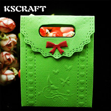 KSCRAFT New candy box metal die cutting dies scrapbooking embossing folder suit for    cutting machine