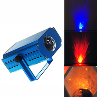 Led Laser Stage Light Portable Ocean Moving Waves Effect Projector Lighting Christmas Party Pattern Lighting Flame