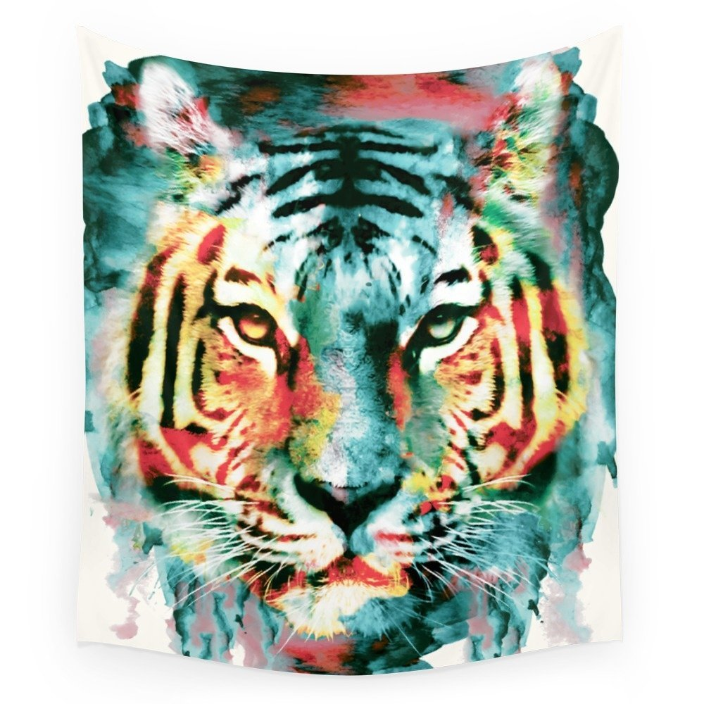 Yoga Towel Tiger: TIGER Wall Tapestry Wedding Party Gift Bedspread Beach