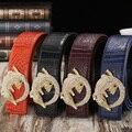 Homme Ceinture cinturones de diseñador hombres de alta calidad de 2016 aleación hebilla de correa cinturón táctico cinturón de correas para los hombres de cuero genuino