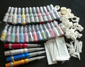 New 2015  Pro Permanent Makeup Pen Tattoo Eyebrow Lips Cosmetic Machine Kit Needles Tips ink permanent makeup kit 009