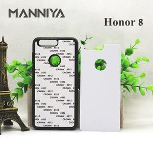 Image 2 - MANNIYA pour Huawei Honor 30 20 boîtier en caoutchouc Sublimation blanc avec Inserts en aluminium 10 pièces/lot