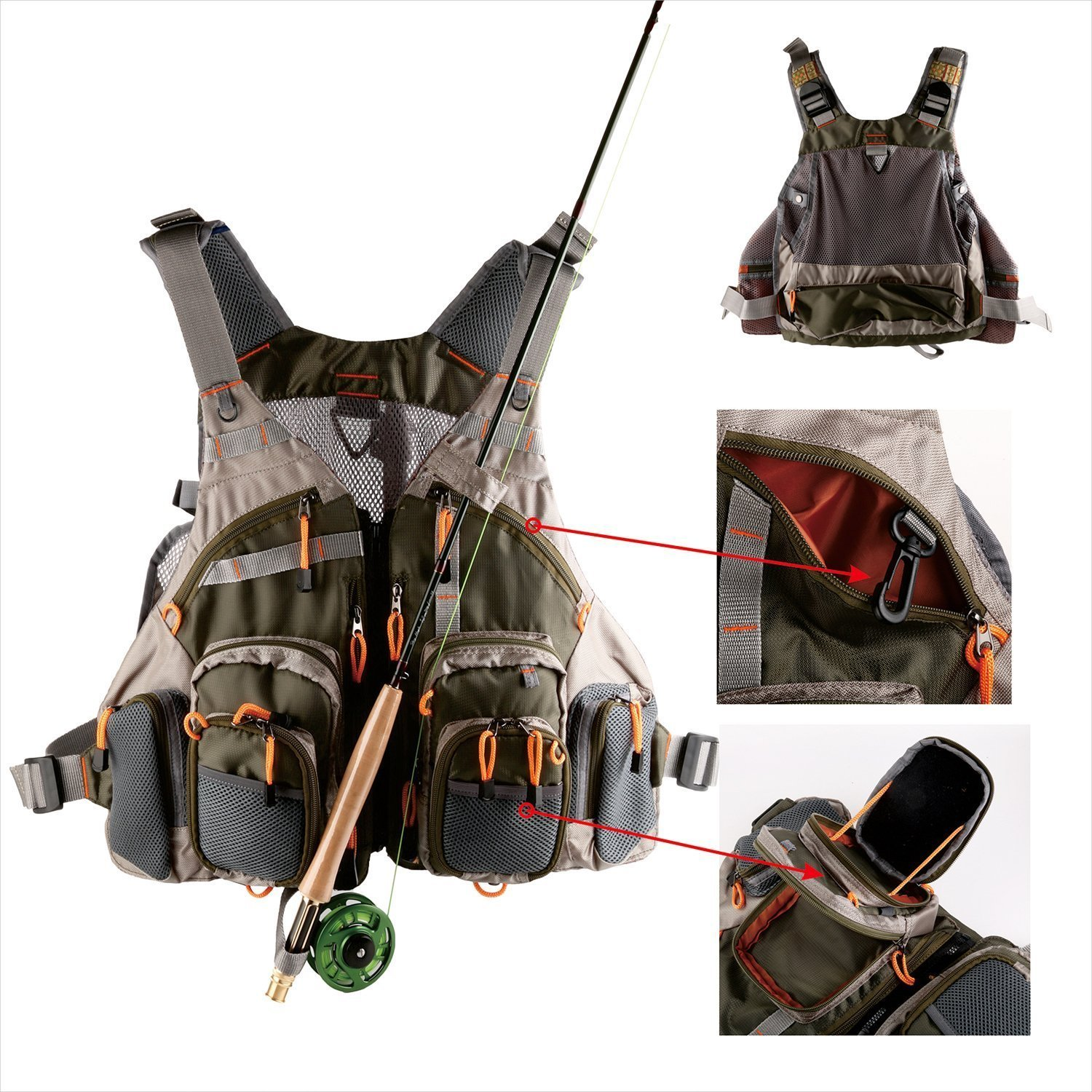High-end multi-functional brand Lu Ya Fly fishing suits can be put on a lot of things to replace pockets outdoor vest effect of cryopreservation on functional integrity of bull spermatozoa