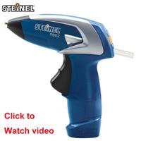 Germany STEINEL NEO2 Portable Rechargeable Cordless Hot Melt Glue Gun Handwork Repair Tool Handicrafts for Kids & 3 sticks