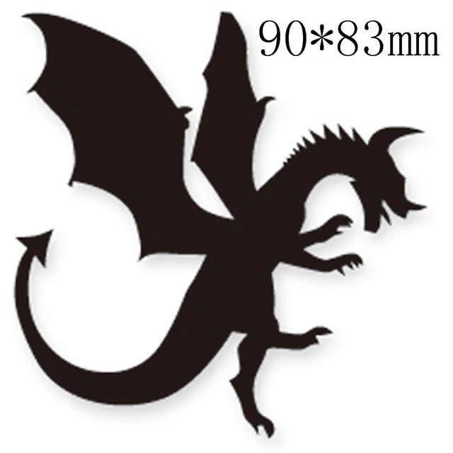 Fairy and Dragon Metal Steel Cutting Dies Stencils For DIY Scrapbooking K9G3