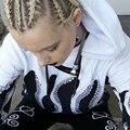 Hoodies mulher polvo impresso capuz camisola do pulôver tamanho s-xl atacado dm #6