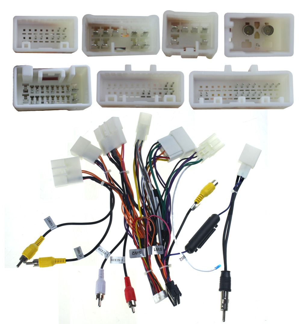 us $46 99 special wiring harness for toyota corolla camry iso harness car radio power adaptor power cable radio plug in cables, adapters \u0026 sockets toyota camry radio wiring diagram factory radio car stereo cd player