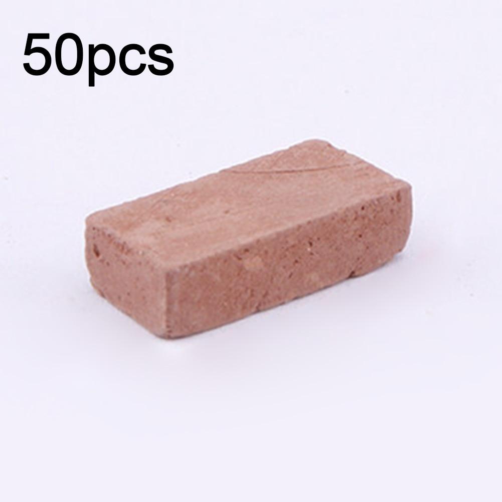 50PCS Sand Table Toy Durable Portable Modelling DIY Miniature Scenery Simulation Brick Landscape Building Kids Diorama