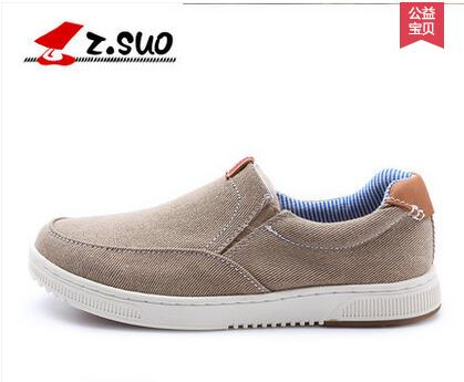 Zsuo casual male foot wrapping breathable shoes single low top canvas shoes free shipping