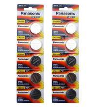 цена на 10pcs/lot Panasonic CR2330 CR 2330 DL2330 ECR2330 GPCR2330 3V Lithium Button Cell Battery Coin Batteries For Computer Toys