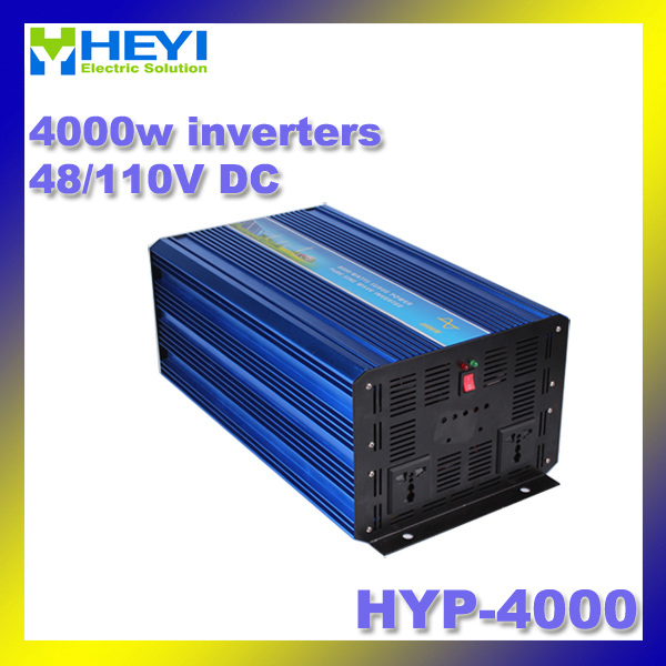 4000w inverter Pure Sine Wave Input: 48V/110V HYP-4000 50/60Hz Soft start power inverter Efficiency: > 90% dc ac inverter gold color simple brief 5w crystal chandelier led lamp for home aisle meeting room bar cloth shops 5w chandelier 6000k 2800k