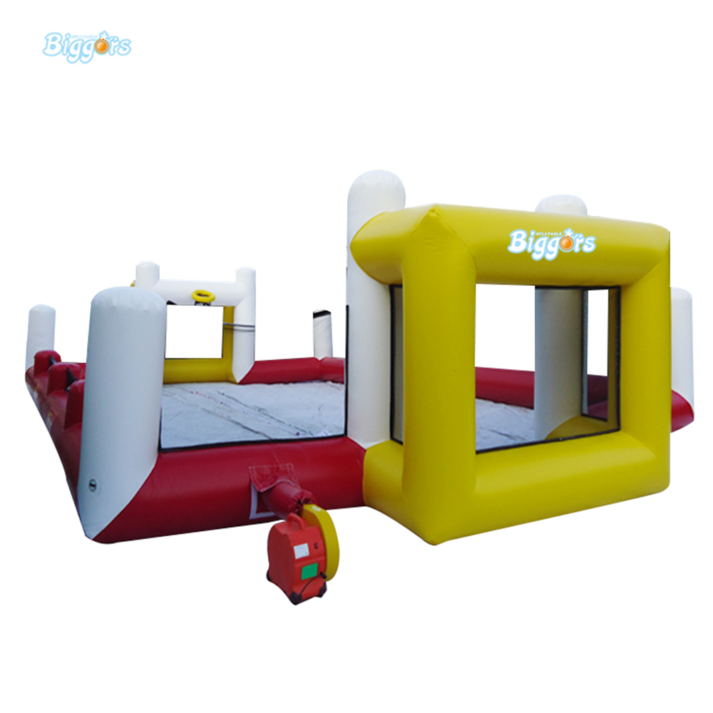 Inflatable Football Field Football Pitch Sports Games Outdoor For Rental Competition